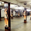 Dancers In The Subway - NYC by Michael J Armijo