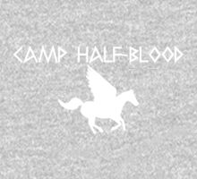 Camp Half-Blood - White Logo Kids Clothes