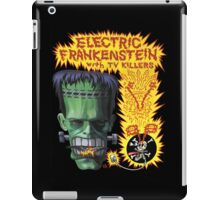Electric Frankenstein Gig Poster iPad Case/Skin