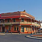 Great Central Hotel, Glen Innes, N.S.W., Australia by Margaret  Hyde