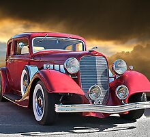 1934 Lincoln Victoria by DaveKoontz