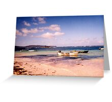 Dominican Beach Greeting Card