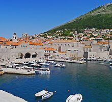 Old Port, Dubrovnik, Croatia by Margaret  Hyde