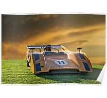 1971 McLaren M8E/Can Am Poster