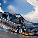 Nostalgia Top Fuel Funny Car  by DaveKoontz