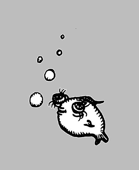 Telescope Eye Fish by Sophie Corrigan