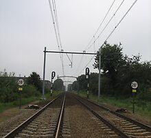 The railroad by daantjedubbledutch