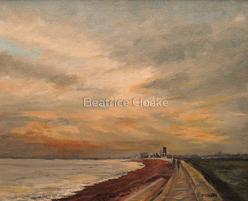St Mary's Bay - Kent by Beatrice Cloake Pasquier