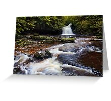 West Burton Falls (Cauldron Falls) - The Yorkshire Dales Greeting Card