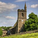 St Margaret&#x27;s Church, Hawes - iPad Case by Tom Gomez