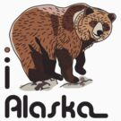 I LOVE ALASKA T-shirt by ethnographics