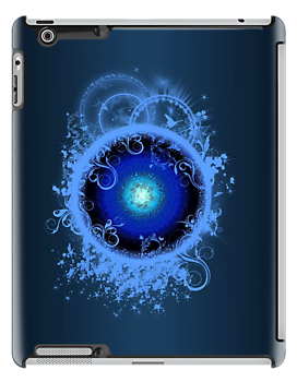 "I-Pad case ""NewGalaxy - Blues And Royals"" by scatharis"