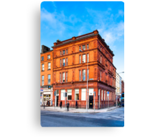 Dublin Cavendish Row on Parnell Square Canvas Print