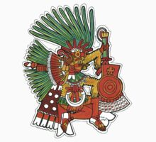 Mayan God Tezcatlipoca by RiverbyNight