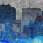 iPhone / Ipod Cases - city blue by newyorknancy