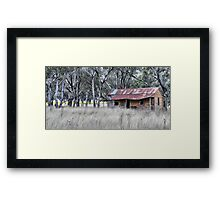 On the Road to Cassilis NSW Australia Framed Print