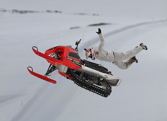 Snowmobile Tricks by Patricia Jacobs CPAGB LRPS BPE3