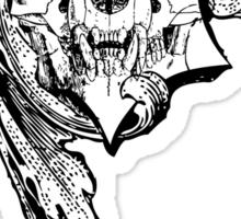 gothic skull Sticker