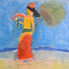 Zohara Ashley-Ross&#x27; &#x27;Lady at the Beach&#x27; by Art 4 ME