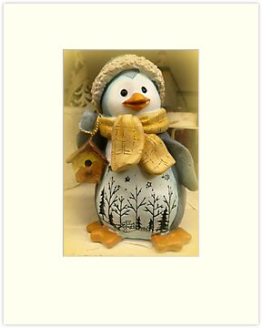 Season's Greetings ~ Roxy the Penguin by ©The Creative  Minds