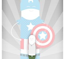 Captain America by SuperLombrices