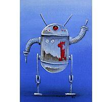 Retro Robot  #1 Photographic Print