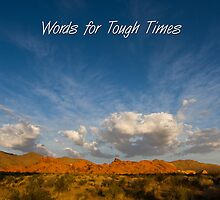 Words for Tough Times by Teresa Hunt