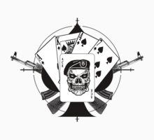 AK47-KILLER HAND STICKER by GUS3141592