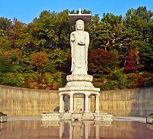 Mireuk Daebul (Great Statue of Maitreya Buddha at Bongeunsa) by TonyCrehan