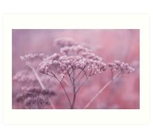 Nature in pink Art Print