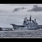 HMS Ark Royal by Brian Avery