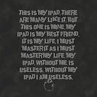 iPad users creed case by Teevolution