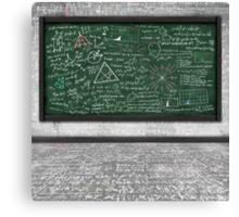 maths formula Canvas Print