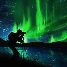 shooting aurora by naphotos