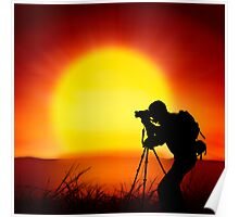 shooting the sun Poster