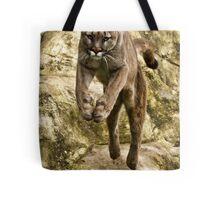 Leaping Puma Tote Bag
