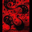 Black Swan iPad Case by Genevieve  Cseh