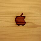 Wooden Apple Logo by bern67