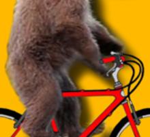 Bear Cycles Sticker