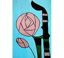Rose: In the style of Mackintosh Photographic Print
