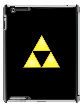 Zelda Triforce iPad Case v2 by BrotherDeus