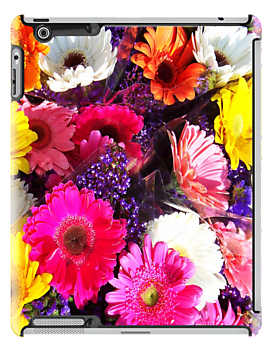 Flowers iPad Case by Ron Hannah
