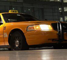 Yellow Cab | iPad Case by 242Digital