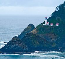 Heceta Head Lighthouse by Bryan D. Spellman