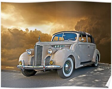 1940 Packard 120 Convertible Sedan by DaveKoontz