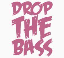 Drop The Bass (Light Pink) by DropBass