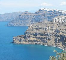 Santorini view : Greek Islands Magic by SlavicaB