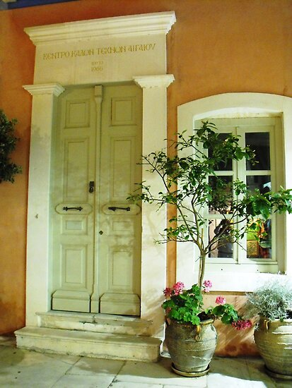Athens house: Greece by SlavicaB