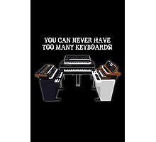 Too Many Keyboards! Photographic Print