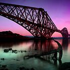 The Rail bridge by Paul  Gibb